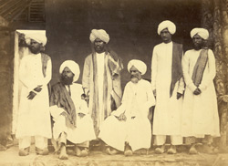 Munshi and teachers of Lord Harris's School, Royapett, Madras 4673